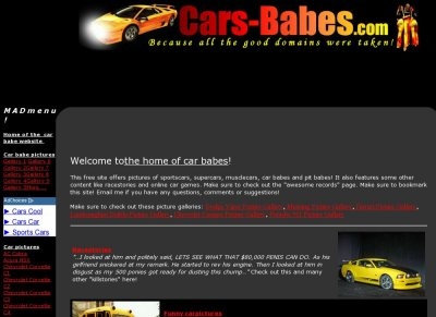 Cars and Babes