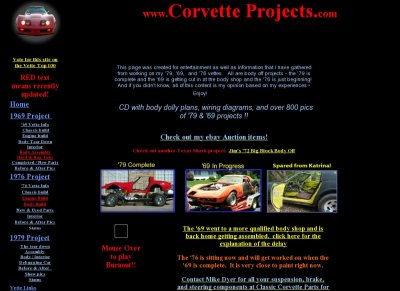 Corvette Projects!!