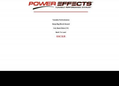 Power Effects